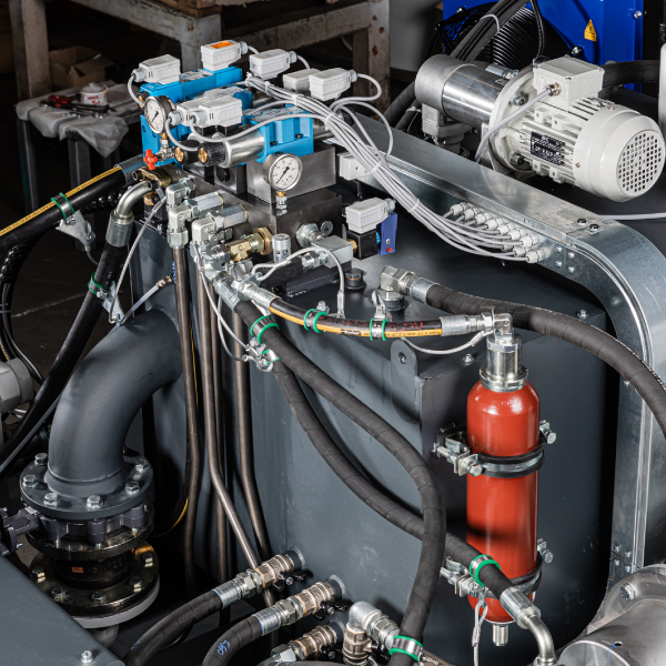 Hydraulic components - CO.MA.FER. Macchine Srl