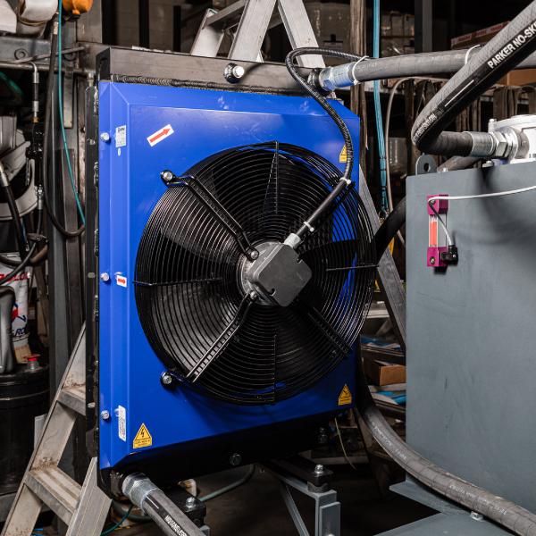 Oil cooling unit - CO.MA.FER. Macchine Srl